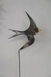 sculpture oiseau eric eglaine Atelier32